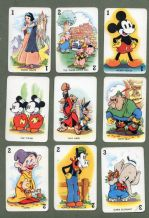 Vintage Cards game Shuffled Symphonies 1939, Snow White etc
